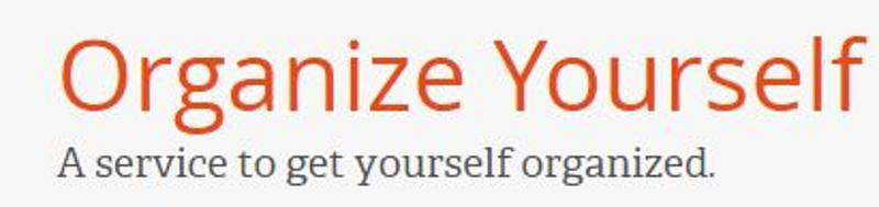 Organize Yourself Online