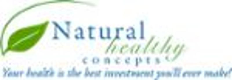 Natural healthy concepts coupon code